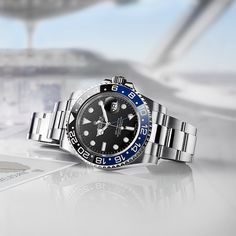 Rolex watches are crafted from the finest raw materials and assembled with scrupulous attention to detail. Discover the Rolex collection on the Official Rolex Website. Dream Watches, Sport Watches, Luxury Watches, Cool Watches, Rolex Watches, Watches For Men, Rolex Gmt Master, Watch Travel Case, Shopping