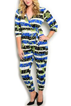 DHStyles Women's Lime Royal Plus Size Sexy Wrap Front Striped Rope Print Maxi Romper - 3X Plus #sexytops #clubclothes #sexydresses #fashionablesexydress #sexyshirts #sexyclothes #cocktaildresses #clubwear #cheapsexydresses #clubdresses #cheaptops #partytops #partydress #haltertops #cocktaildresses #partydresses #minidress #nightclubclothes #hotfashion #juniorsclothing #cocktaildress #glamclothing #sexytop #womensclothes #clubbingclothes #juniorsclothes #juniorclothes #trendyclothing…