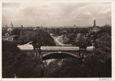 Ansichtskarten-Lexikon :: Kersten-Miles-Brücke und Bismarck-Denkmal :: St. Pauli-Hamburg