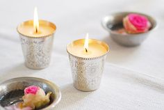 Moroccan inspired candle holders