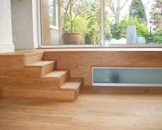Prime grade Istoria wooden floor and matching staircase with square edge nosing…