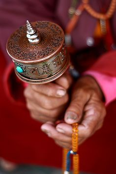 Buddhist Prayer-Wheel - Tibet