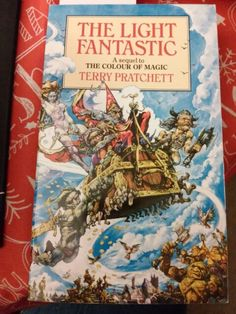 the light fantastic by terry pratchett - The Color Of Magic Book