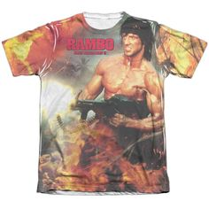 """Checkout our #LicensedGear products FREE SHIPPING + 10% OFF Coupon Code """"Official"""" Rambo:first Blood Ii/become War -adult Poly/cotton S/s T- Shirt - Rambo:first Blood Ii/become War -adult Poly/cotton S/s T- Shirt - Price: $24.99. Buy now at https://officiallylicensedgear.com/rambo-first-blood-ii-become-war-adult-poly-cotton-s-shirt-licensed"""