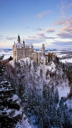 Neuschwanstein Castle, Germany - want to go but Idk if we'll have time!