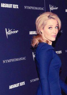 The Beautiful Gillian Anderson.