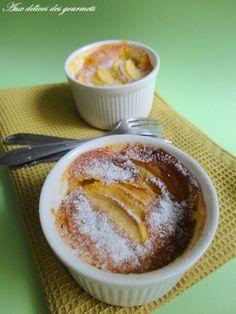 Aux délices des gourmets: GRATIN DE POMMES A LA FLEUR D'ORANGER