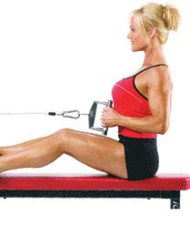The seated cable row is constant tension move that is perfect for etching shape into your back and building better posture.If you want a tighter back and improved posture, the seated row should be a staple exercise in your workout arsenal.