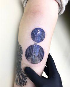 Creative tattoo design by Eva Krbdk