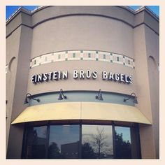 Denver West on a beautiful Friday morning. #EinsteinBros #Bagels
