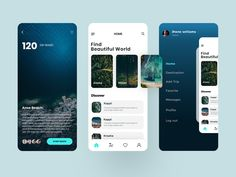 Web Design Mobile, App Ui Design, Interface Design, Site Design, Flat Design, Design Design, App Home Screen, Design Responsive, App Design Inspiration