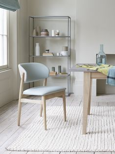 No need to stress about mess. The seat cushions wipe clean in seconds. And to look even more gorgeous we've put a lovely contrasting natural linen on the back. Kitchen Chairs, Dining Chairs, Natural Linen, Seat Cushions, Cleaning Wipes, Stress, Room, Furniture, Home Decor