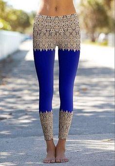 Blue Raja Yoga Pant