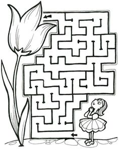 Afbeeldingsresultaat voor how to draw a maze Drawing Activities, Book Activities, Preschool Activities, Art Drawings For Kids, Drawing For Kids, Kindergarten Worksheets, Worksheets For Kids, Interactive Learning, Kids Learning