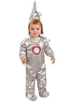 Toddler Tin Man Costume from the Wizard of Oz.