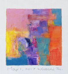 https://flic.kr/p/Ubm1Xg | may012017 | Oil on canvas 9 cm x 9 cm © 2017 Hiroshi Matsumoto www.hiroshimatsumoto.com