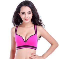 Cheap yoga bra, Buy Quality women yoga bra directly from China yoga top bra Suppliers: New Professional Women Seamless Yoga Bra Top Comfortable Bra Push Up For Yoga Sports Sleep Fitness Breathable Clothing Yoga Top Yoga Sport, Swimsuit Pics, Off Shoulder Floral Dress, Best Sports Bras, Comfortable Bras, Yoga Bra, Yoga Tops, Professional Women, Indian Beauty Saree