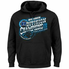 Carolina Panthers 2013 NFC South Division Champions Pullover Hoodie - Black