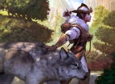 Selvala,Heart of the Wilds, Tyler Jacobson