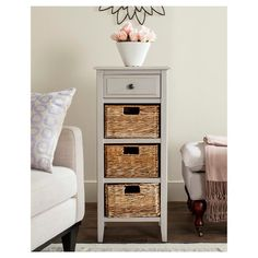Morfin Side Table with Drawer - Safavieh : Target