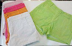 Shorts em laise para badalar no verão ! Novidades do ateliê DASH brasil