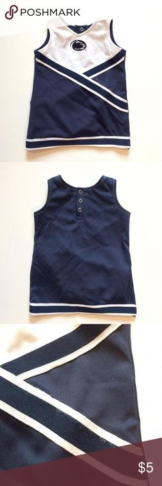 NWOT Penn State Cheerleading Uniform Perfect for your little Penn State Nittany Lions fan! This cheerleading uniform is new, unworn, with the bloomers still attached. Great for cheering from the sidelines! *126, bin 2* Dresses