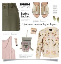"""Day With You"" by marina-volaric ❤ liked on Polyvore featuring Zara, Needle & Thread, Christian Dior, Betsey Johnson, Bobbi Brown Cosmetics and wardrobebasics"