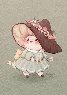 Mushroom Drawing, Mushroom Art, Art Drawings Sketches, Cute Drawings, Kawaii Drawings, Random Drawings, Animal Drawings, Pretty Art, Cute Art