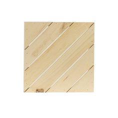 """Diagonal Rustic Pallets   Walnut Hollow - Craft  Small 12.5"""" x 12.5"""" x 2""""  $14.99"""