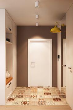 Reforma de Apartamento em Moscou por Geometrium DS