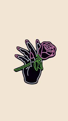 Hand me the flower wallpaper   made by Laurette   instagram:@laurette_evonen