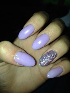 Purple glitter nails Purple Glitter Nails, Nail Summer, Nice Dresses, Beauty, Summer Nails, Cute Dresses, Beautiful Gowns, Beautiful Dresses, Beauty Illustration