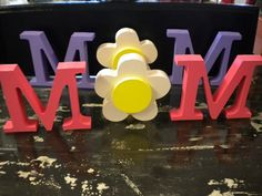 Mom Cutouts with flower by ramonalarsen on Etsy