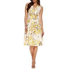 FREE SHIPPING AVAILABLE! Buy Jessica Howard Sleeveless Fit & Flare Dress at JCPenney.com today and enjoy great savings.