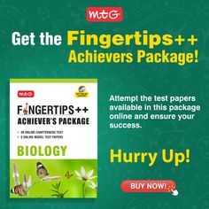 If you are preparing for boards then you should buy MTG's Fingertips++ Achievers package for your better preparations. It consist of an online test package is an addition to the latest edition of Objective NCERT at your Fingertips. Math Books, Science Books, Neet Exam, Hindi Books, Online Modeling, Board Exam, Model Test, Entrance Exam, Online Tests