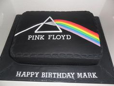 have to make this for my dad Cake Decorating Tutorials, Cookie Decorating, Pink Floyd, Birthday Cakes For Men, Birthday Ideas, Whiskey Cake, 50th Cake, Rock And Roll, Fathers Day Cake