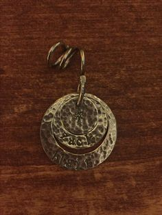 """Sterling silver nested """"mommy jewelry"""" pendant Mommy Jewelry, Hand Designs, Pendant Jewelry, Belly Button Rings, Lisa, Handmade Jewelry, Sterling Silver, Accessories, Handmade Jewellery"""