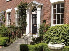 Composite Door, Futuristic, Entrance, Sidewalk, Windows, Doors, Modern, Design, Entryway