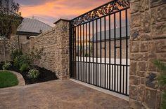 cement fences | Precast Concrete Fences | Concrete Screens and Retaining Walls ...