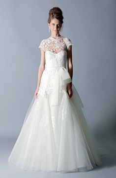 Bridal Gowns: Rivini A-Line Wedding Dress with Sweetheart Neckline and Natural Waist Waistline