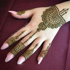 Latest Henna (Mehndi) Designs for hands