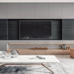 Tv Wall Furniture, Tv Unit Furniture Design, Tv Unit Design, H Design, Living Room Tv Unit, Decor Home Living Room, Living Room Furniture Arrangement, Tv Console Design, Kim House