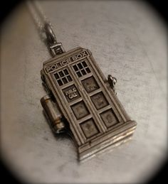 Tardis locket