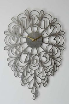 Gatehouse Wall Clock, Dangling Numbers... I like this clock!
