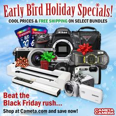 Exclusive Early Bird Holiday Specials! (November 18 - November 23, 2014)