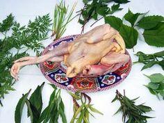 Fresh Chicken with Hmong Herbs  Nqaij - Qaib Hau Xyaw Tshuaj    (Makes 1 pot of soup) #hmong