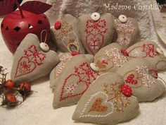 Madame Chantilly: Cross stitch patterns