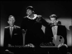 bing images and pictures of dean martin | Bing Crosby, Dean Martin and Mahalia Jackson - 1958 - YouTube