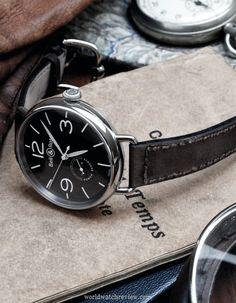 Bell & Ross Vintage WW1 Reserve de Marche automatic pilot's watch