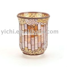 Candle Holders | ... candle holders hand sticked mosaic candle holders mosaic glass candle